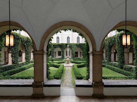 Garten des Volkskundemuseums