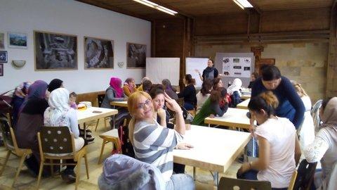 Frauen beim interkulturellen Frauencafé