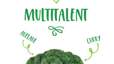 Plakat zum Multitalent Brokkoli