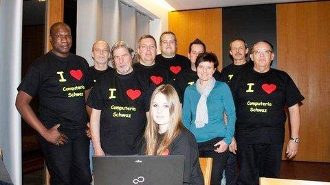 Das Team der Computeria in Schwaz
