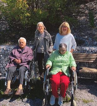 Ausflug im Rollstuhl