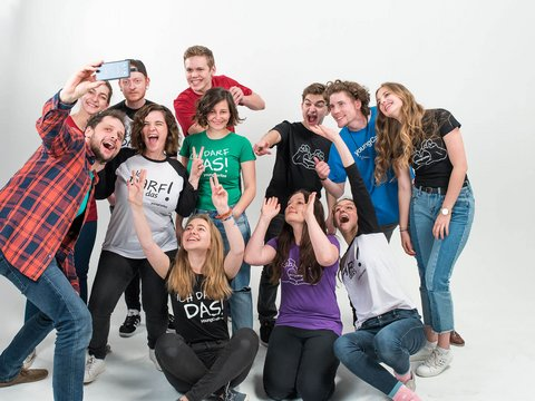 Team der young Caritas