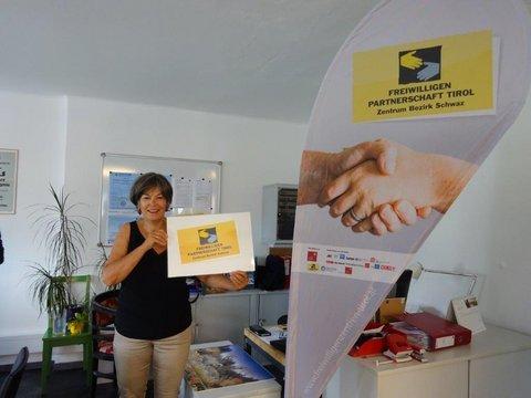 Sabina Seeber, Koordinatorin des Freiwilligenzentrums Schwaz