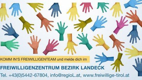 Teaser für das Freiwilligenzentrum Landeck
